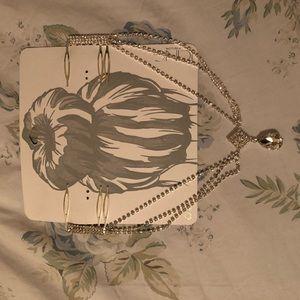 Dainty wedding prom hair jewelry